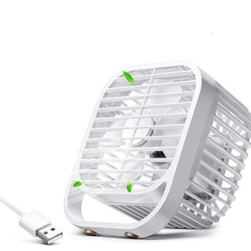 YouYou-YC Vita Italiana Ventilatore Elettrico USB Fan Studente dormitorio Mobile Muto Mini Ventilatore scrivania scrivania Ventilatore Letto casa con Piccolo Ventilatore da 8 Pollici