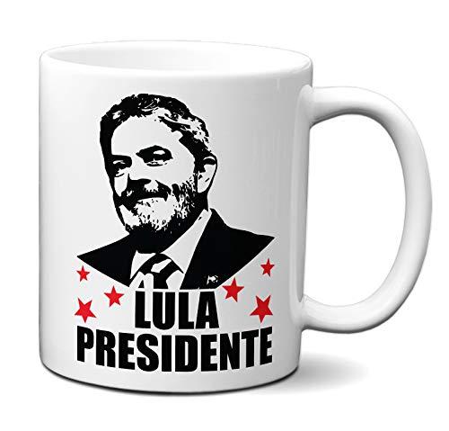 Caneca Lula Presidente 2022 Xícara Presente Personalizado
