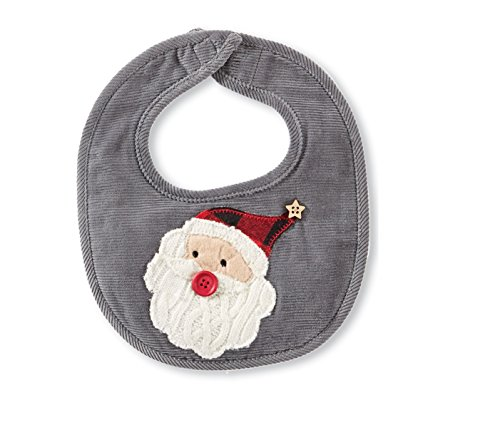 Mud Pie Christmas Baby Boy Bib (Santa)