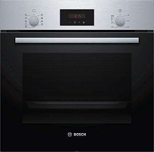 Bosch - Horno eléctrico empotrable serie 2 HBF173BS0 capacidad 63 L multifunción ventilado color acero inoxidable