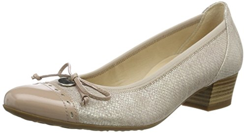 Gabor Shoes Damen Comfort Pumps, Beige (Skin/Nude 82), 42.5 EU