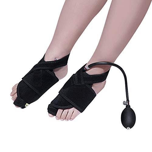 Corrector de juanetes, mangas de separación ortopédicas ortopédicas para pulgares inflables para hombres y mujeres