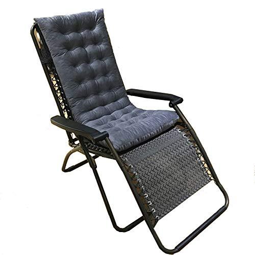 Schommelstoelkussens, Ligstoelen Kussens Dikker Verlengen Opvouwbare gevoerde stoelkussens Draagbare tuinstoel Stoelhoes Bed Stoelhoes voor reisvakantie,A,120 * 48 * 7cm