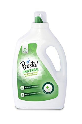 Presto Bio pack 4 bottles. Each bottle 2.2 liters (44 washes)