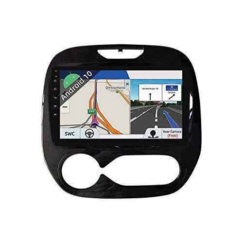 JOYX Android 10 Autoradio Compatibile con Renault Captur (2014-2018) - [2G32G] - Camera Canbus Gratuiti - 9 Pollice - 2 Din - Supporto DAB 4G WLAN Bluetooth Carplay Volante Mirrorlink Android Auto