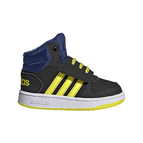 adidas Hoops Mid 2.0 I, Zapatillas, NEGBÁS/AMAACI/AZUVIC, 27 EU