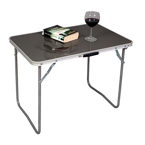 Siehe Beschreibung Beistelltisch Outdoor 60 x 40 cm zusammenfaltbar bis zu 30kg belastbar - Campingtisch Gartentisch Klapptisch Koffertisch Falttisch Tisch Bierzelttisch