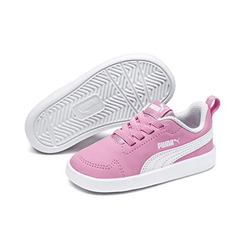 Puma Unisex-Kinder Courtflex Inf Sneaker, Rosa (Pale Pink-Puma White), 26 EU