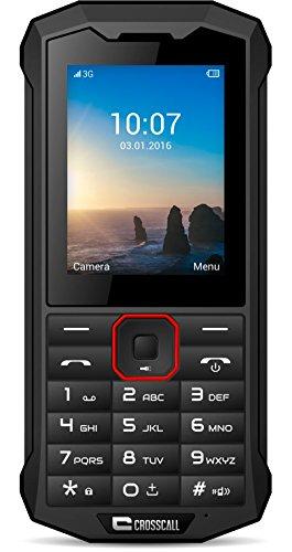 Crosscall Spider-X4 Mobiltelefon (2,4 Zoll - 64 GB internal Speicher - Dual SIM) Schwarz