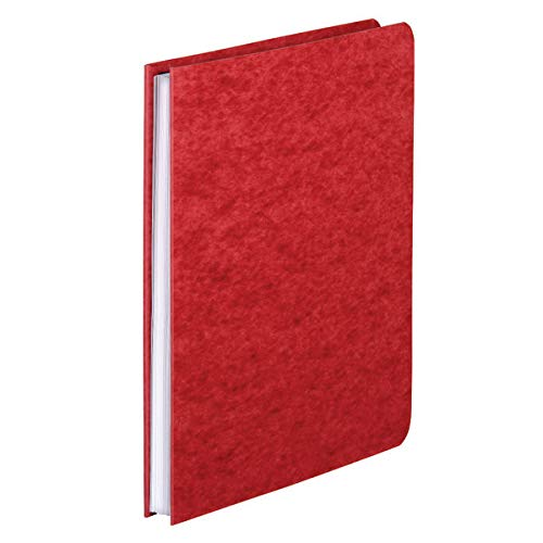 Office Depot Pressboard Side-Bound Report Binders with Fasteners, Executive Red, 60% Recycled, Pack of 10, A7025129