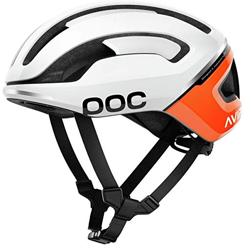 POC Omne Air Spin, Helmet Unisex – Adulto, Zink Orange Avip, M / 54-59 cm