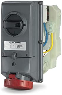 Base//s Enclavamiento portafusible ip67 3 Polos+Tierra 16a 6h compacta Scame advance2