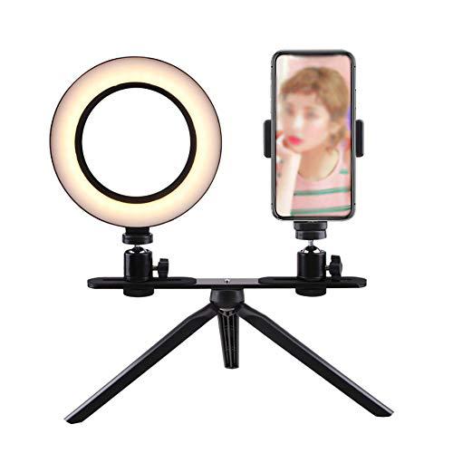 ZJING Tragbare Handy Live Stativ Halterung Nacht Weiches Licht Schalter Taste Kann Eingestellt Werden, Um Fotografie Füllen Licht Wird Nicht Die Augen LED-Leuchten Verletzt