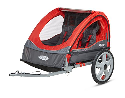 Buy Bargain Instep Bike Trailer for Kids, Single and Double Seat, Single Seat, Red