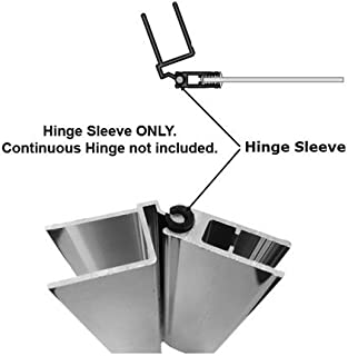 Hinge Sleeve for Shower Doors with Continuous Hinge - 90