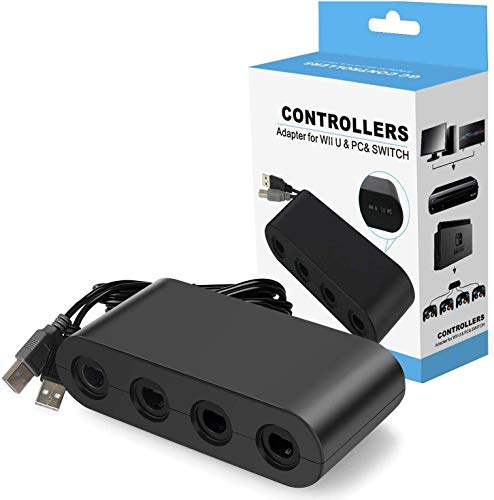 Y Team Controller Adapter for Gamecube, Compatible with Nintendo Switch, Super Smash Bros Switch...