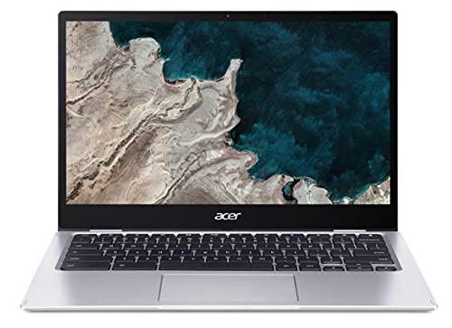 Acer Chromebook Convertible 13 Zoll (CP513-1H) (ChromeOS, Laptop, FHD Touch-Display, Akkulaufzeit: Bis zu 14 Stunden, Tastatur beleuchtet, 1,3 Kg leicht, 15.55 mm dünn) Plus Chromebook
