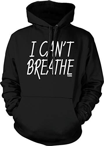 I Can't Breathe - George Floyd Justice Unisex Hoodie Sweatshirt (Black, Small)