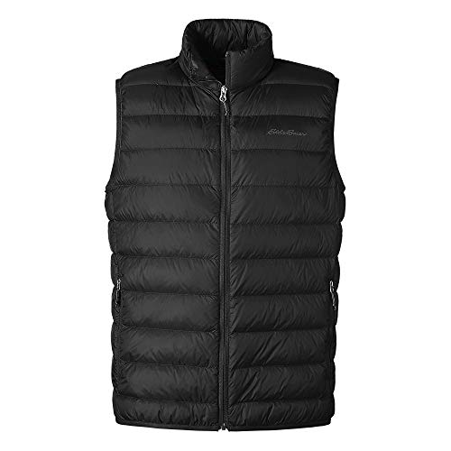 Eddie Bauer Men's CirrusLite Down Vest, Black Regular XL