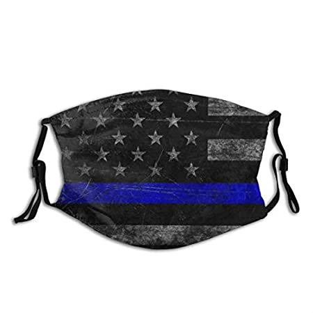 Thin Blue Line Surgical Face Mask