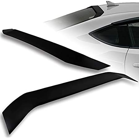 IKON MOTORSPRTS Roof Spoiler Compatible With 2013-2020 Scion FR-S /& Toyota 86 /& Subaru BRZ 2014 2015 2016 2017 2018 2019 Gloss Black PP Rear Window Visor Roof Lip Spoiler Wing