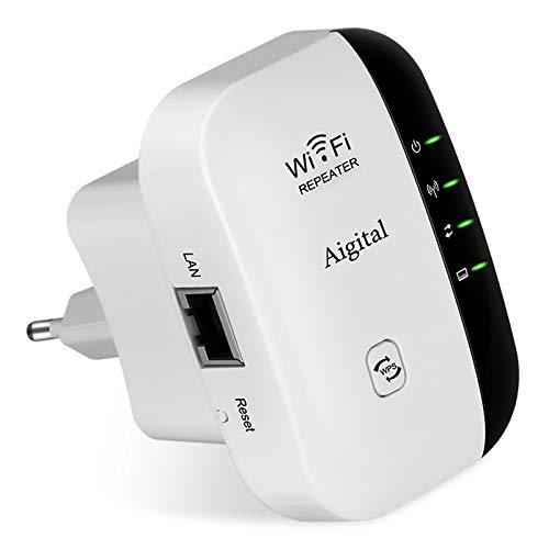 Amplificador WiFi Repetidor Extensor de Red Punto de Acceso...