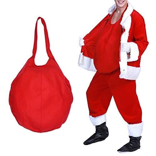 Feynman Weihnachtsmann Bauch Falsches Zubehör Kostüm Santa Claus Verkleidung Weihnachten Costume
