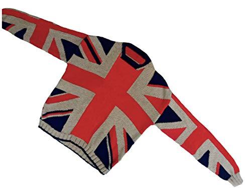 british flag sweater for men - 4