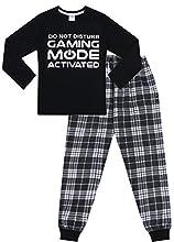 The Pyjama Factory - Pijama dos piezas - para niño Negro Negro ( 15-16 años