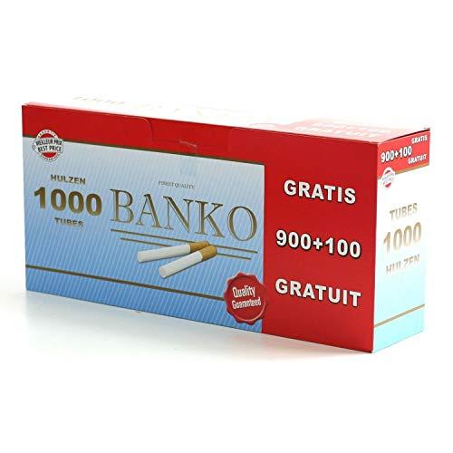Boîte de tubes à cigarettes x1000 BANKO