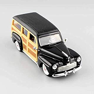 Greensun Children's 1/43 Scale Small 1948 Ford Woody Woodie die-cast Detailed Replica Metal Automobile Station Wagon Mint Modeling Toys