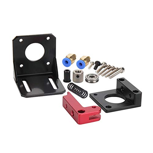 MorNon Upgraded Ender 3 Extruder, Aluminum Bowden Extruder Drive Feed Kit with 40 Teeth MK8 Drive for Ender 3 and CR10 Series 3D Printers