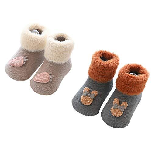 Ansenesna Hausschuhe Baby Socken Plüsch Neugeborene Hüttenschuhe Jungen Mädchen Barfuss Lammfell Schuhe Hoher Spann Krabbelschuhe