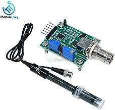 Liquid PH 0-14 Value Detection Regulator Sensor Module Monitoring Control Meter Tester + BNC PH Electrode Probe for Arduino
