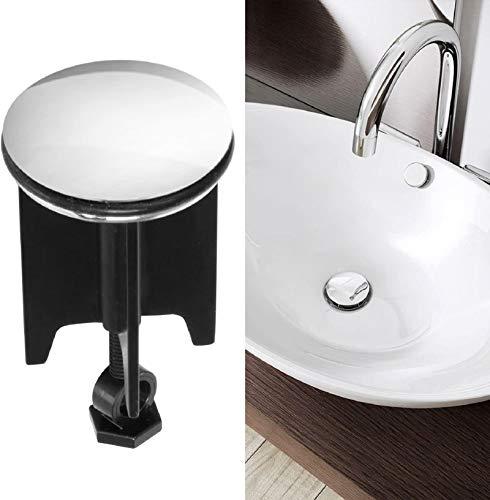 innislink 322 Bouchon de bonde de lavabo en Laiton Noir 40 mm