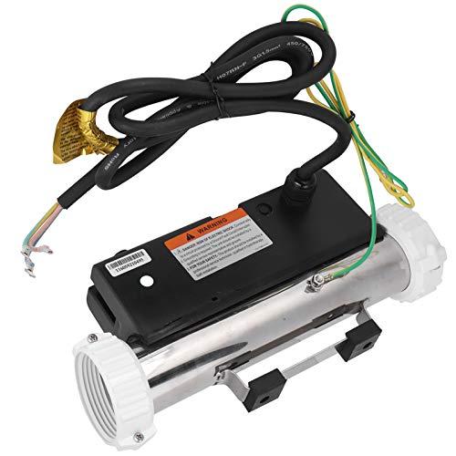 Voluxe Calefactor para bañera, spa, fácil de instalar, funciones completas para uso doméstico.