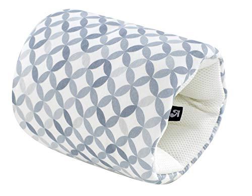 Alvi Stillkissen To Go/Stillkissen mini geräuschfrei/kleines Babystillkissen waschbar/Stillmuff & Nackenkissen Maße ca. 33 x 20 cm, Design:Mosaik