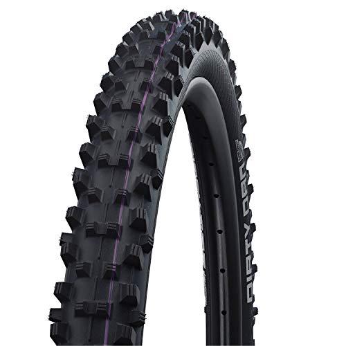 Schwalbe Unisex– Erwachsene Reifen Dirty Dan HS417 SDH, schwarz, 27 Zoll