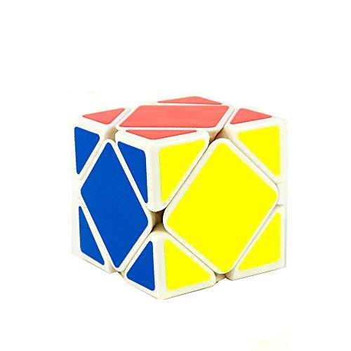 Moyu Yongjun Skewb Speed Cube Puzzle, Blanco