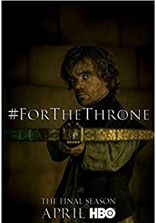 Game of Thrones Peter Dinklage as Tyrion Lannister with crossbow For the Throne promo 8 x 10 inch Photo