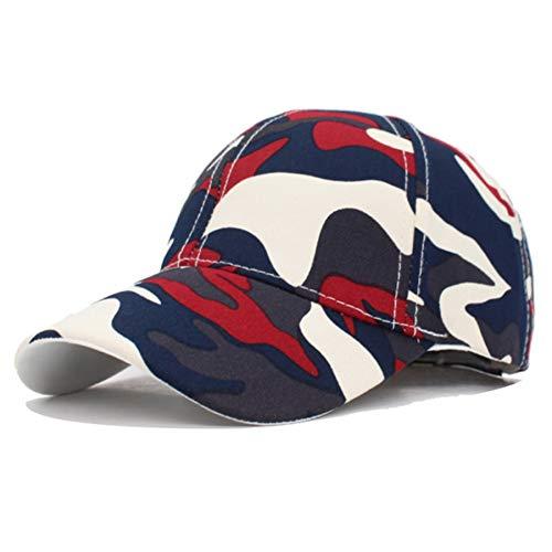 FORBQM Berretto da Baseball Berretti da Baseball da Uomo Moda Cappellini Snapback Mimetici Cappelli da Uomo Cappello da Baseball Casual da Uomo con Casetta da Baseball