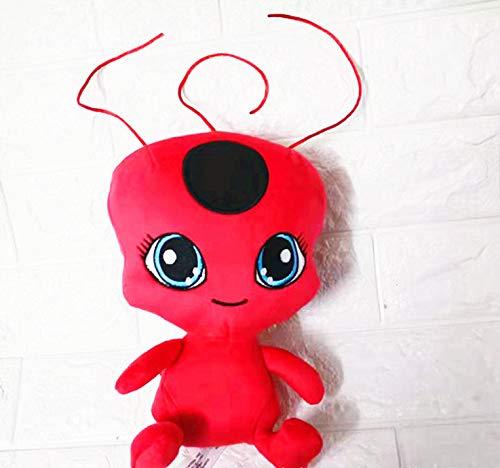 HJYAAA Juguetes De Peluche Juguetes Blandos Ladybug Girl Miraculous Ladybug Red Ladybug...