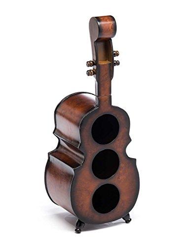 aubaho Weinregal 60cm Geige Violine Viola Flaschenregal Flaschenständer Wein Regal