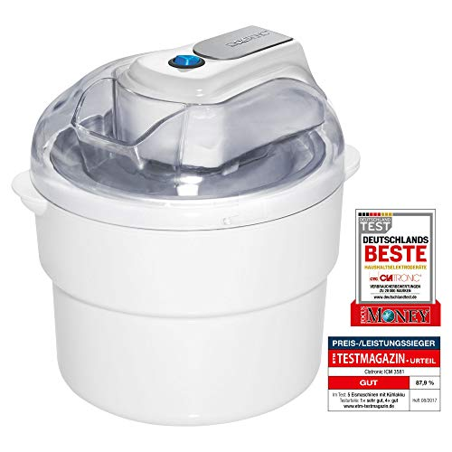 Capacidad para 0,8 l (1 kg aproximado de helado) Tapa con apertura de llenado Ideal para preparar helado, sorbete y yogur helado Tiempo de preparación: 20 – 40 minutos Accesorio de mezcla y chasis de motor, extraíble para facilitar la limpieza