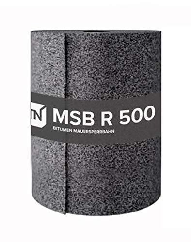TN Bitumen Mauersperrbahn MSB 24 cm - für die waagerechte Abdichtung in oder unter Wänden