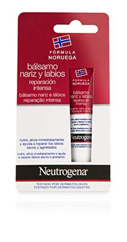 Neutrogena Bálsamo Nariz y Labios Reparación Intensa, 15 ml