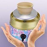 TOPQSC Mini máquina de ruedas de cerámica, 2000RPM máquina de dibujo eléctrica Barro Dedo Dedo Máquina De Dibujo Cerámica Regalos de acompañamiento de arte de cerámica para niños adultos