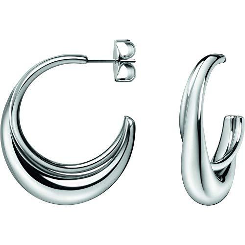 Calvin Klein dames hangende oorbellen roestvrij staal - 7612635098500