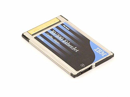 IBM 08L3148 10/100 EtherJet LAN PCMCIA CardBus 32-bit 3V Adapter PC Card 08L3160 (Generalüberholt)
