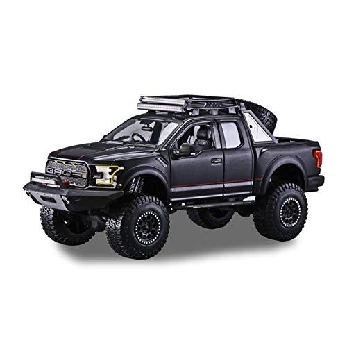 ZCLY 1:24 Simulación para Ford Raptor Aleación Modelo De Coche Artesanía Decoración Colección Herramientas De Juguete Niños Niñas Adultos Regalo Modelo de Auto (Color : 1)